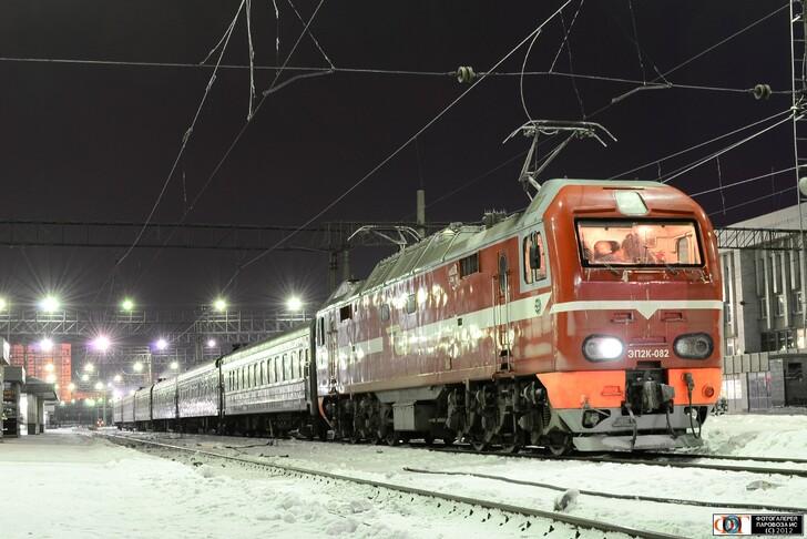 Поезд Тюмень — Уфа