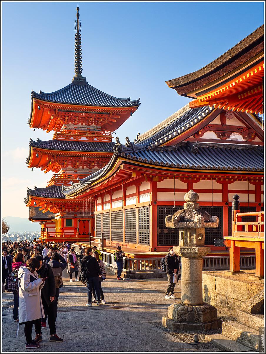 Киёмидзу-дэра, Исчезающий ниндзя или Киото+