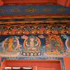 Роспись стен в буддистском храме