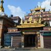 Вход в буддистский храм