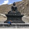 Статуя Будды в Муктинатхе