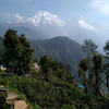 Вид на хребет Аннапурны из Гандрука