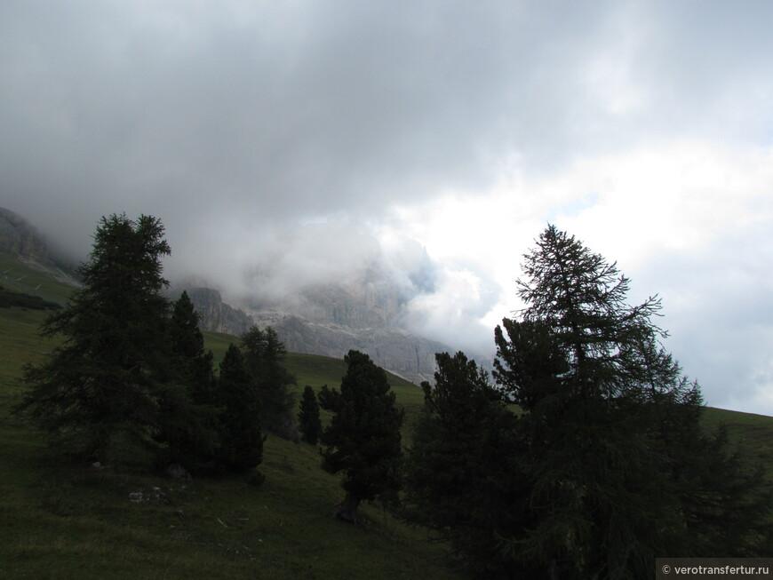 Подножье горного массива натурального парка Sciliar - Catenaccio.