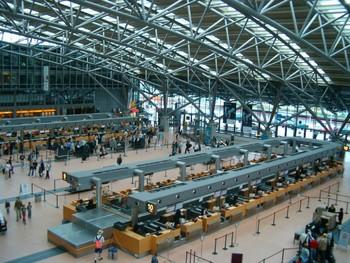 В аэропорту Гамбурга сегодня произойдут задержки рейсов из-за забастовки