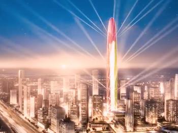 В Дубае построят супер-башню с подиумом в форме отпечатка пальца шейха
