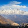 Вид на хребет Дхаулагири