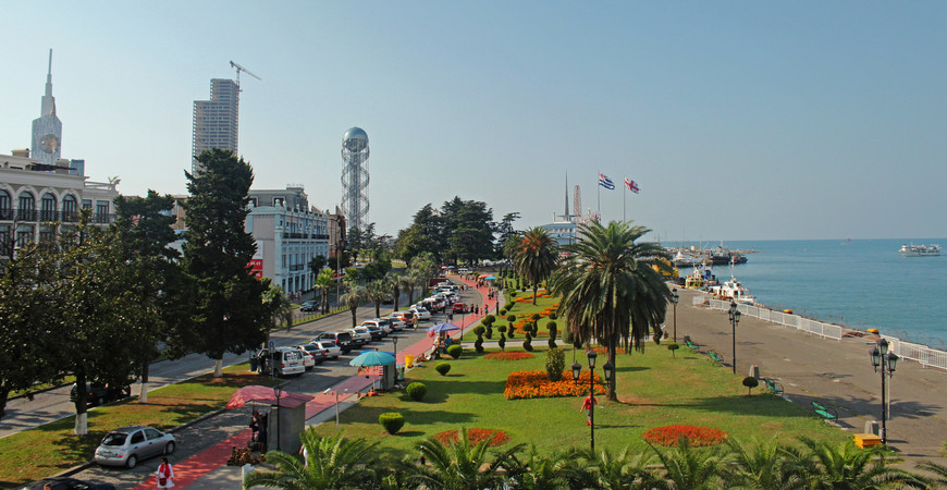 Бульвар Батуми, Приморский парк (Batumi Boulevard)