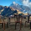В Верхнем лагере Марди Химал