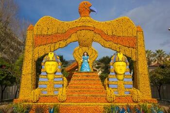 В Ментоне пройдёт Фестиваль лимонов