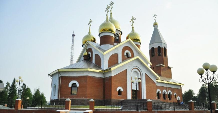 Храм Архистратига Михаила в Ноябрьске
