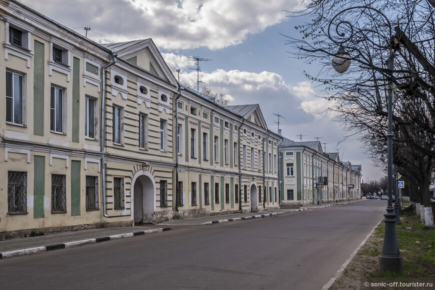 Набережная Степана Разина.
