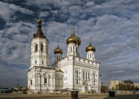 Храм  Александра Невского на Привокзальной площади