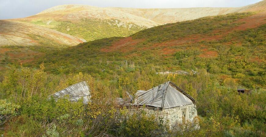 Заброшенный поселок Харбей