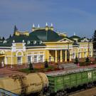 Ж/д вокзал Юрги