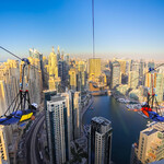 Зиплайн в Дубае