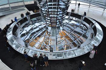 Музей под куполом Рейхстага