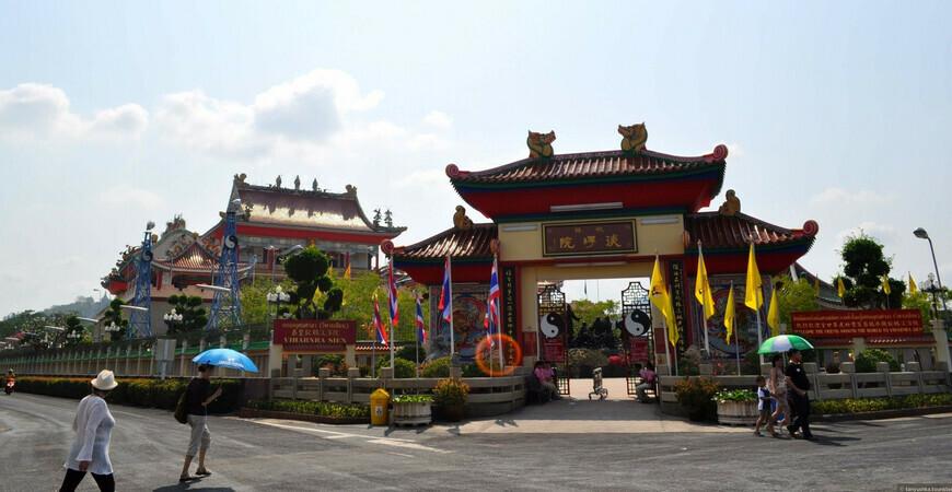 Китайский храм-музей в Паттайе