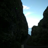 Океан и горы