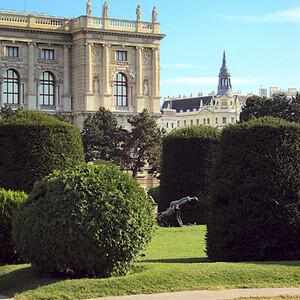 Сады Хофбурга