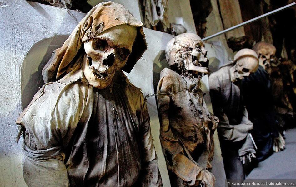 «Катакомбы Капуцинов — Музей мертвецов в Палермо»