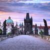 Первое знакомство. Правый берег Влтавы - Старый город, Новый город. Карлов мост.Экскурсии с частным индивидуальным гидом по Праге.