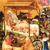 Живопись в преддверии картины - экспозиция готической живописи в монастыре св. Анежки Чешской. Вышебродский цикл. Рождество.Экскурсии с частным индивидуальным гидом по Праге.