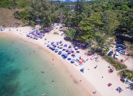Фото пляжа Януи: вид с квадрокоптера