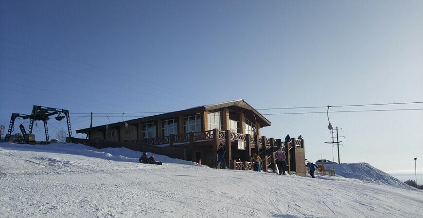 Горнолыжная база «Гора» в Перми