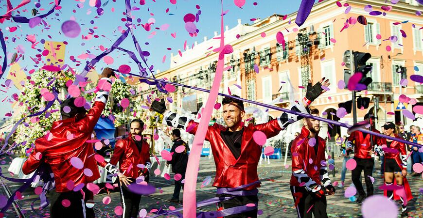Карнавал в Ницце в 2020 году