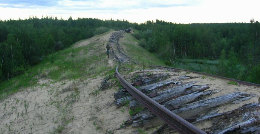 Заброшенная железная дорога Чум — Салехард — Игарка (Трансполярная магистраль)