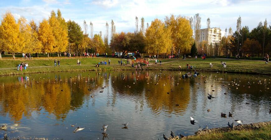 Первомайский парк Уфы