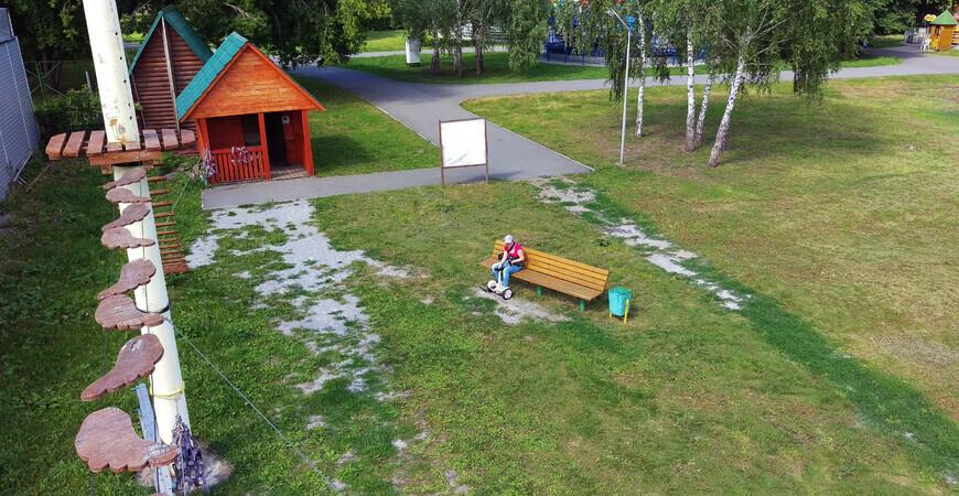 Парк Эдельвейс в Барнауле