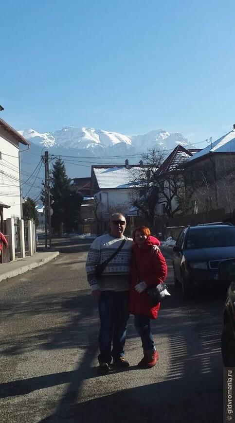 Одесситы Валентина и Валерий по стопам Дракулы в Бране