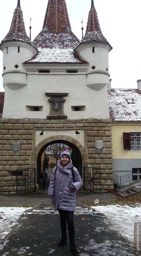 У ворот св. Екатерины в Брашове