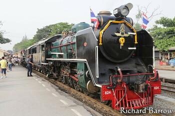 В Таиланде вновь запускают исторический поезд