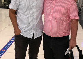 С Гостями из Ингушетии Хамзат