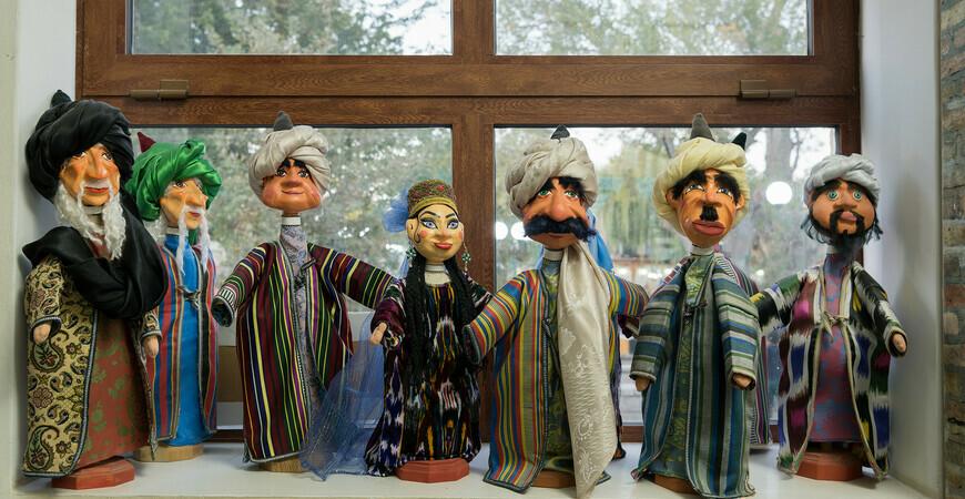 Музей-мастерская национальных кукол в Бухаре