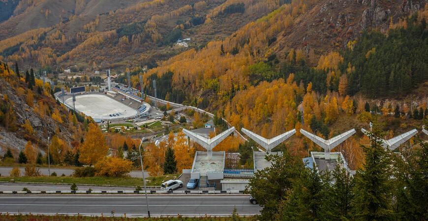 Спортивный комплекс и каток «Медео» в Алматы