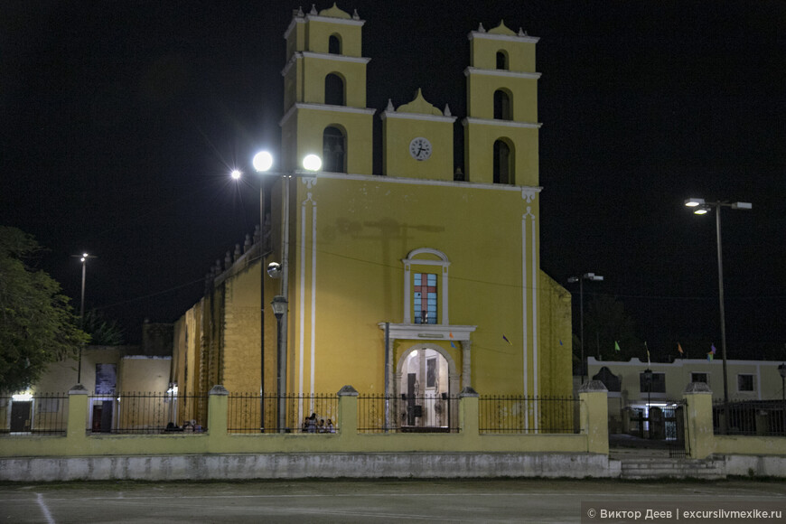 Церковь в центре города Аканш