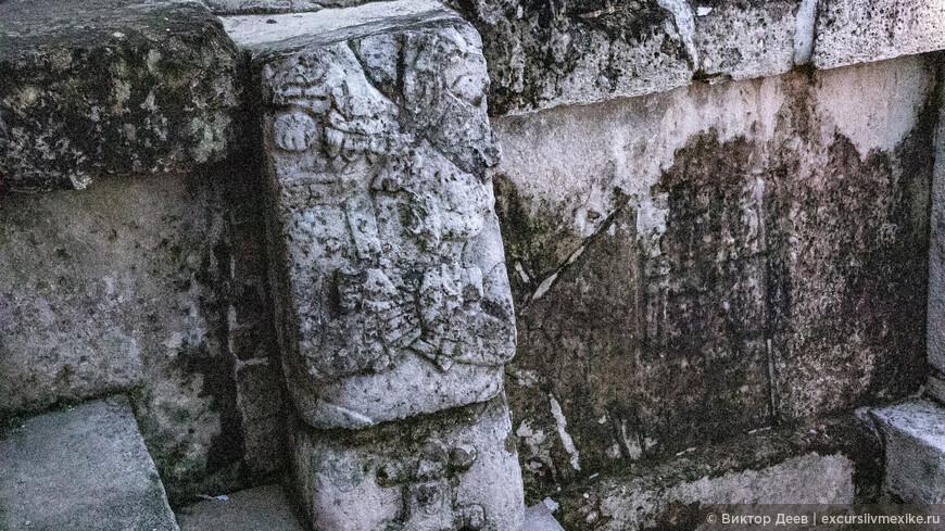 Пирамиды древнего города Паленке, грация возрастом 3000 лет