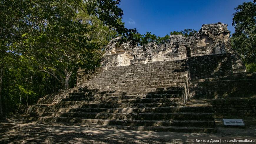 пирамиды загадочного города Калакмуль