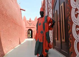 Нигер. Ч - 22. Дворец султана Дамагарам