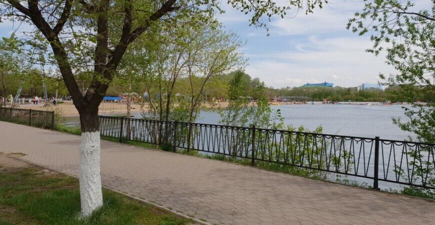 Центральный парк Караганды