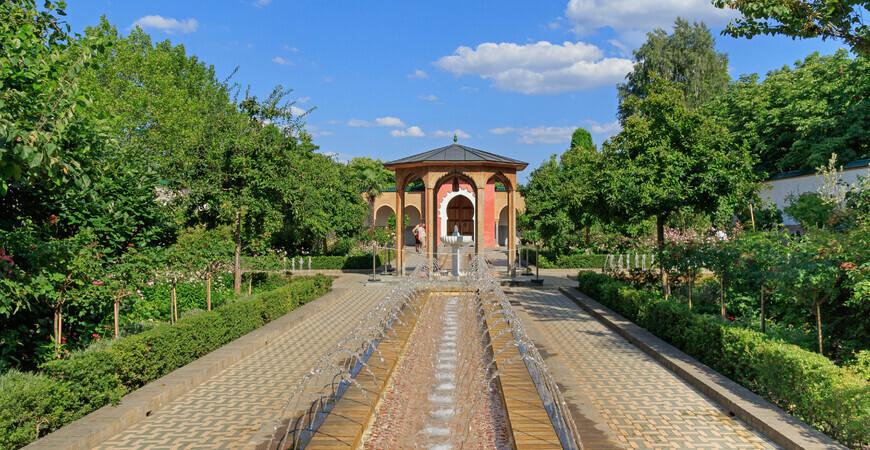 Парк «Сады мира» (Gärten der Welt)