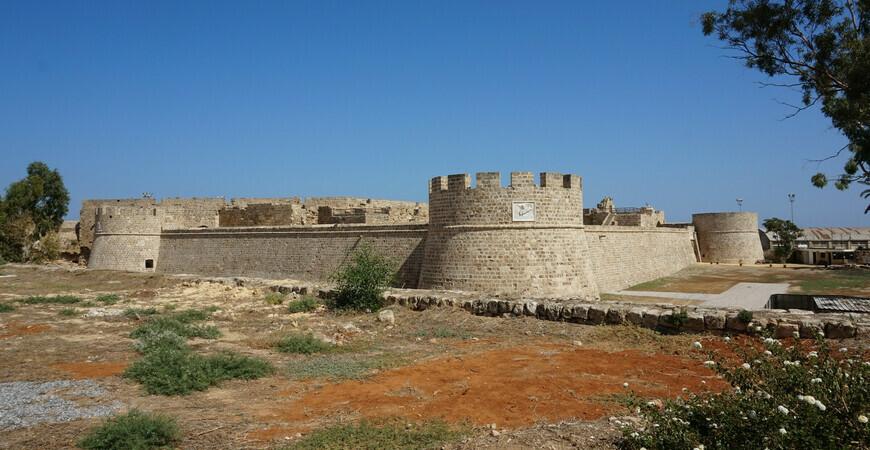 Замок Отелло в Фамагусте, Северный Кипр