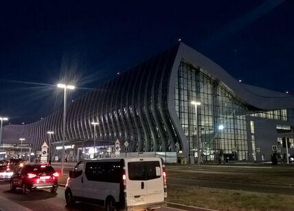 Подъезд к аэровокзалу