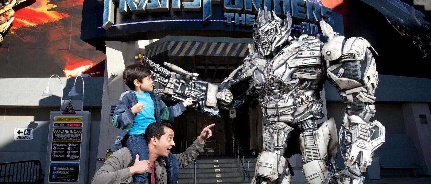 Парк Universal Studios в Голливуде