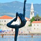 Скульптура «Танцовщица из Будвы»