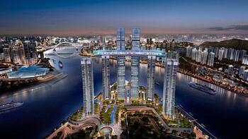 В Китае строят первый в мире «горизонтальный небоскреб»