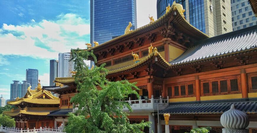 Храм Цзинань (Jing'an Temple)
